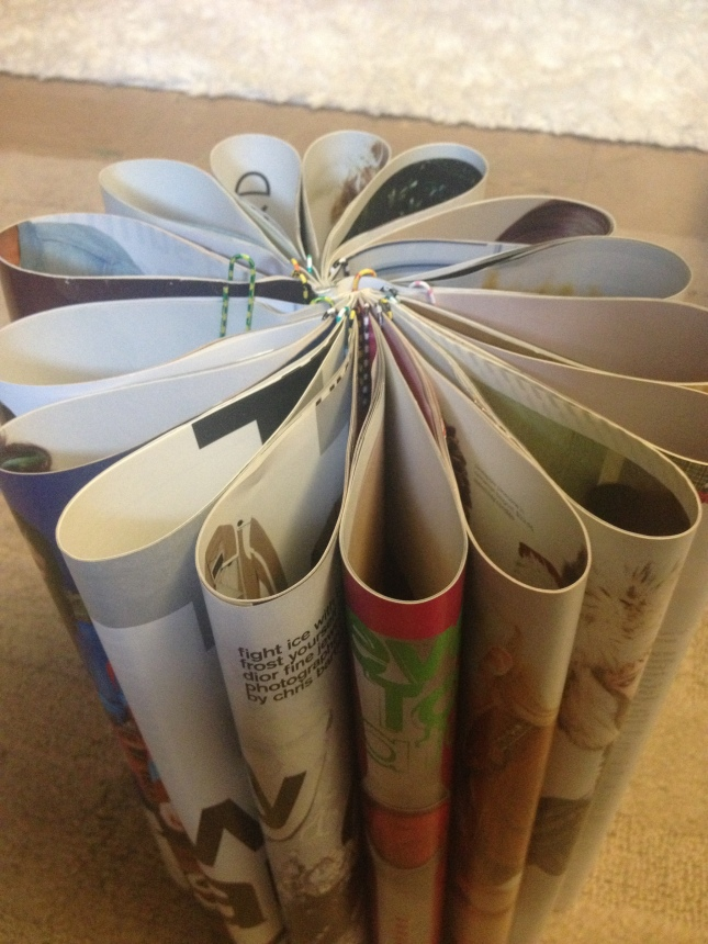 diy projects with old magazines